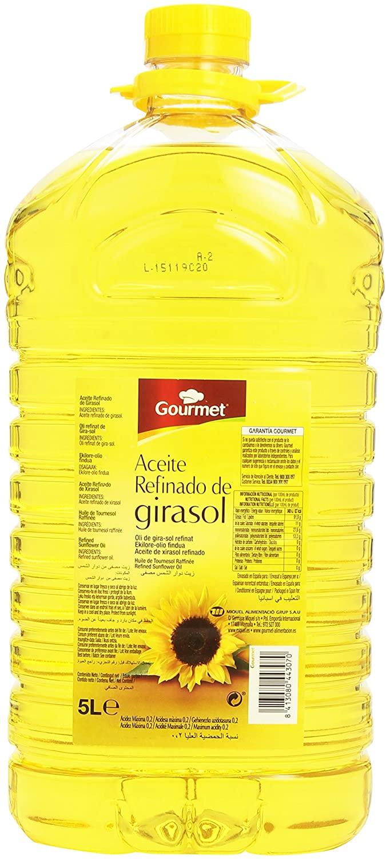 Aceite Girasol 5 litros