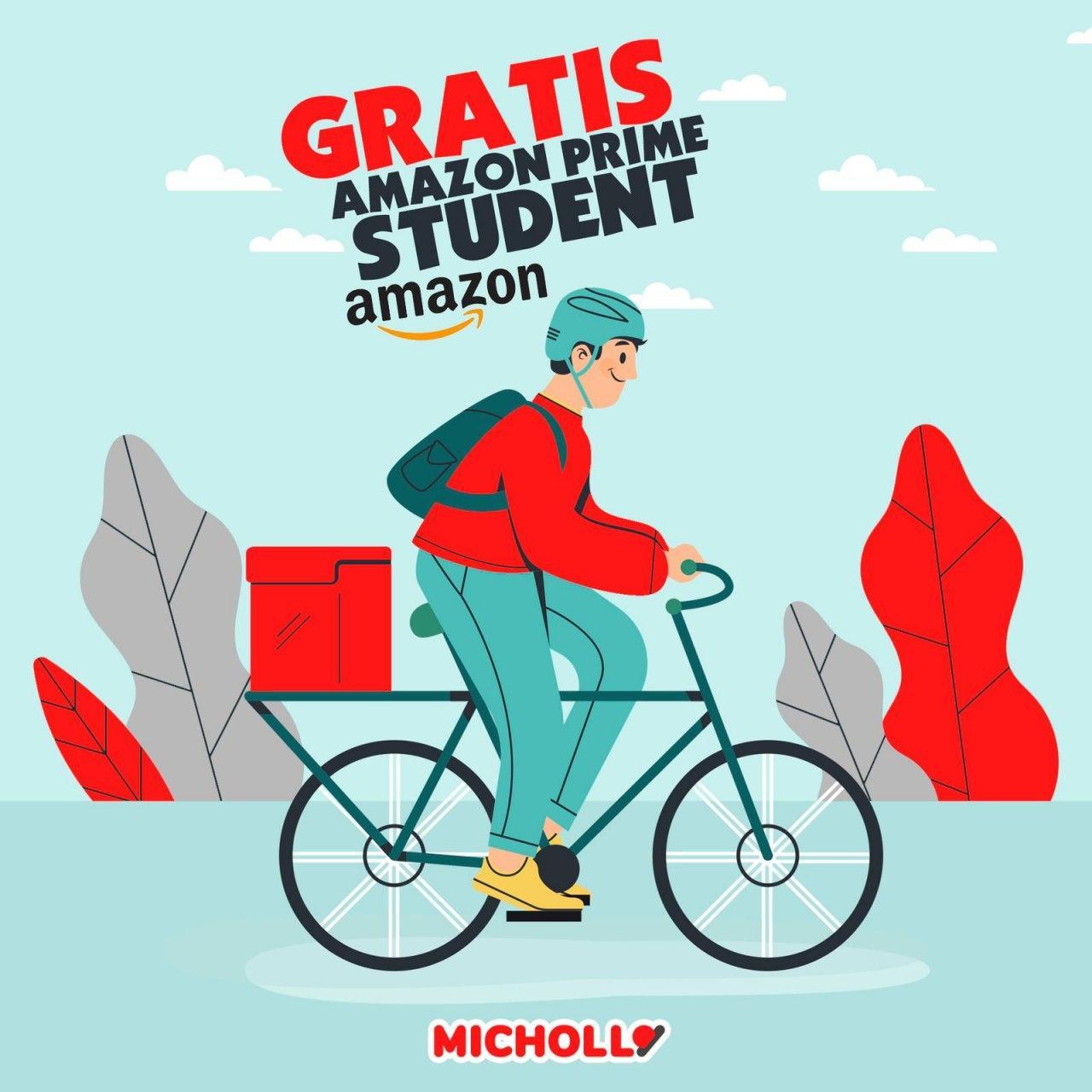 10€ gratis en Amazon Prime Student