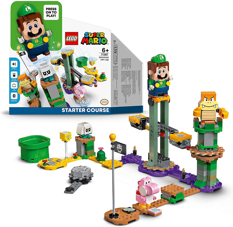 LEGO Super Mario: Pack Inicial Aventuras con Luigi + Regalo Fuzzy