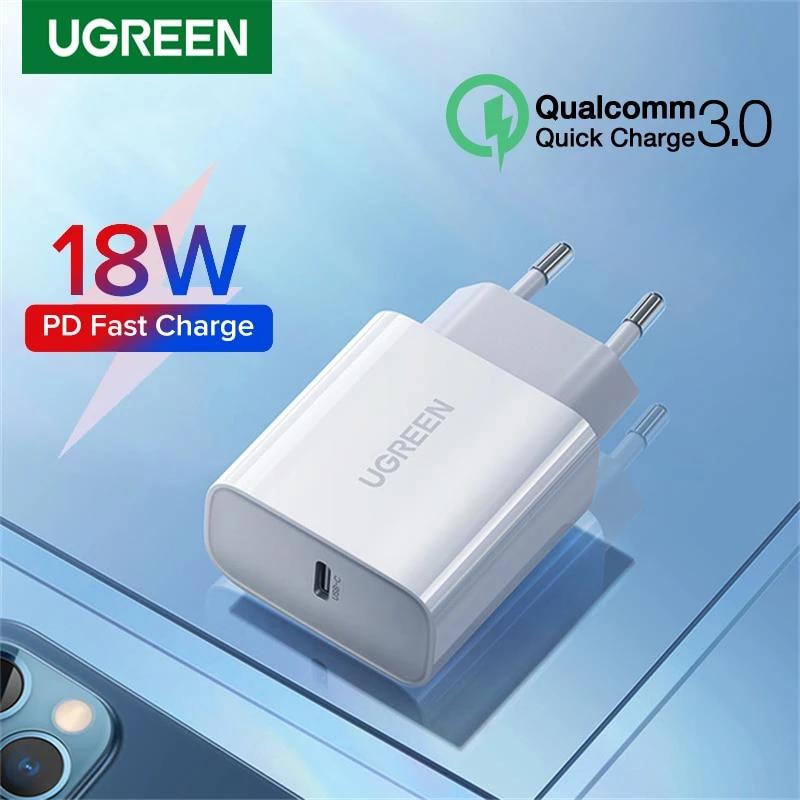 Cargador USB Tipo C 18W UGREEN