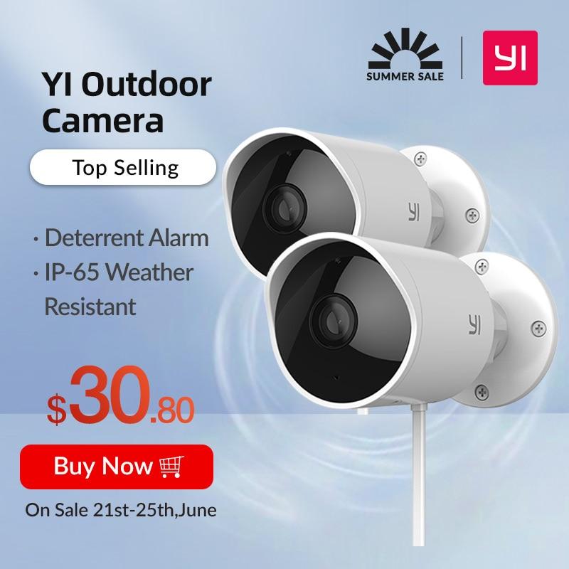 2x Xiaomi Yi Outdoor Camera