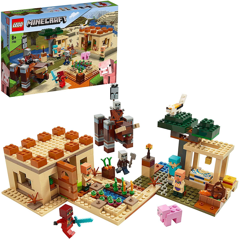 Lego Minecraft La Invasión de los Illager