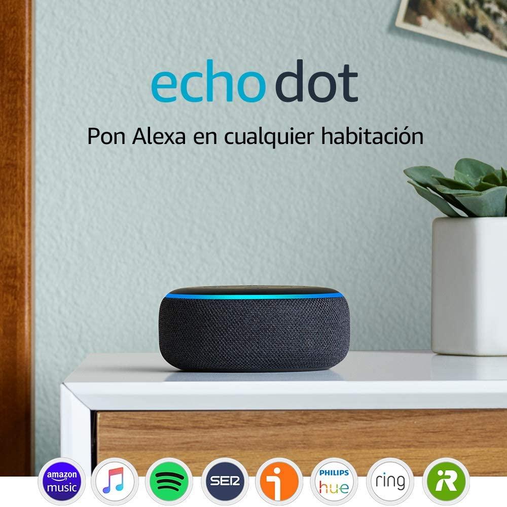 Alexa Echo Dot de 3º Gen