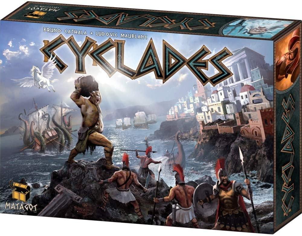 Matagot - Cyclades, Juego de mesa de estrategia