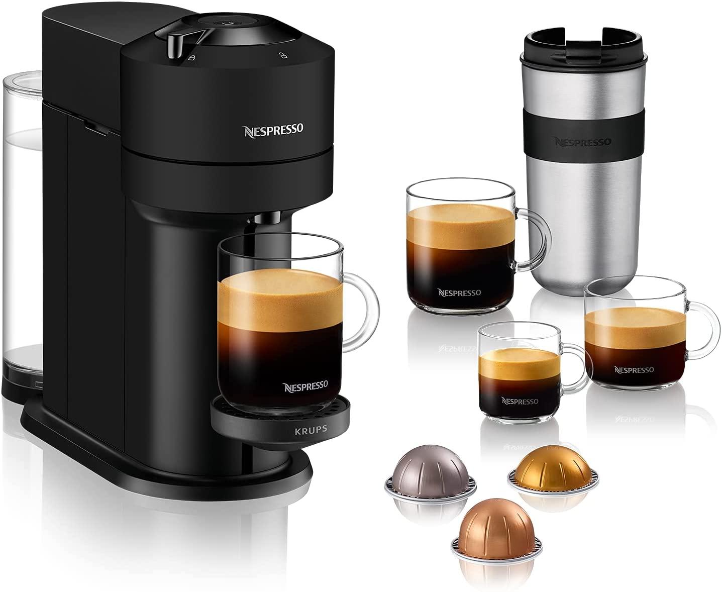 Nespresso VERTUO Next XN910N Cafetera de cápsulas