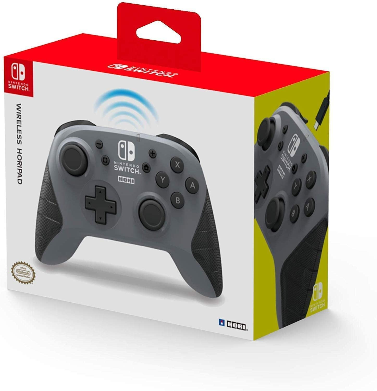 Horipad inalámbrico gris (Nintendo Switch)