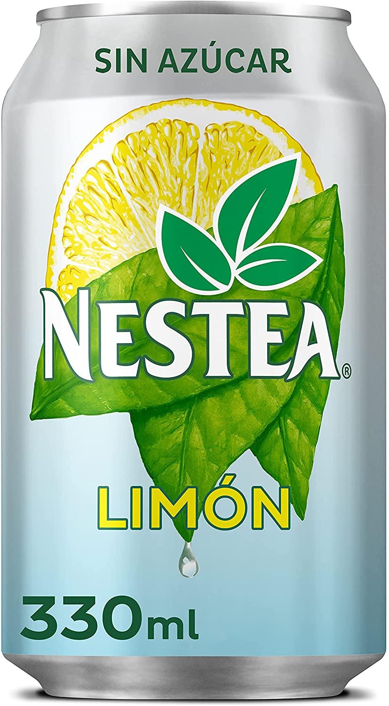 2 latas nestea limón