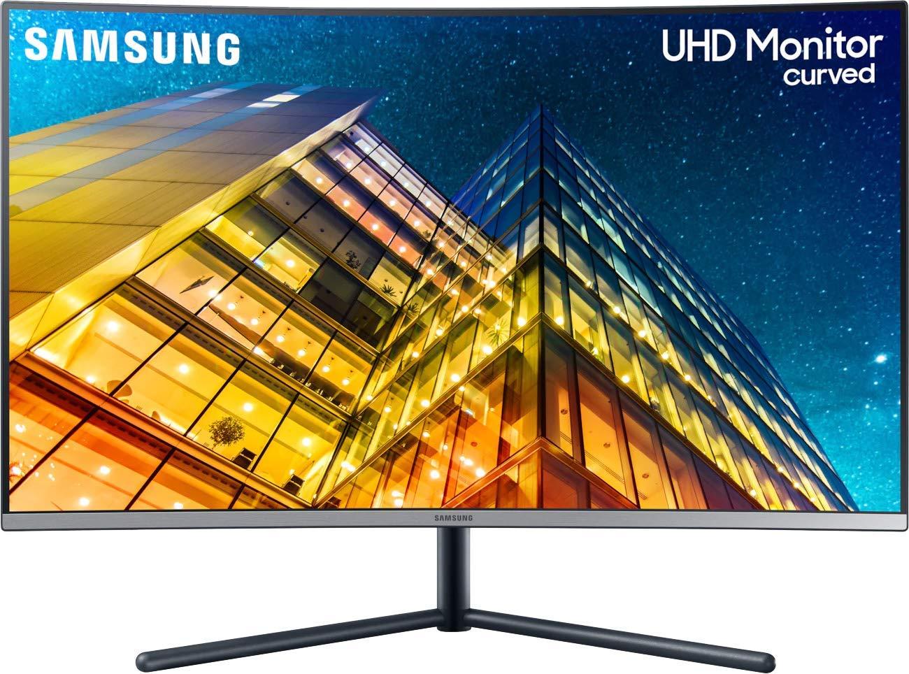 """Monitor Curvo Samsung de 31.5"""" UK UltraHD"""