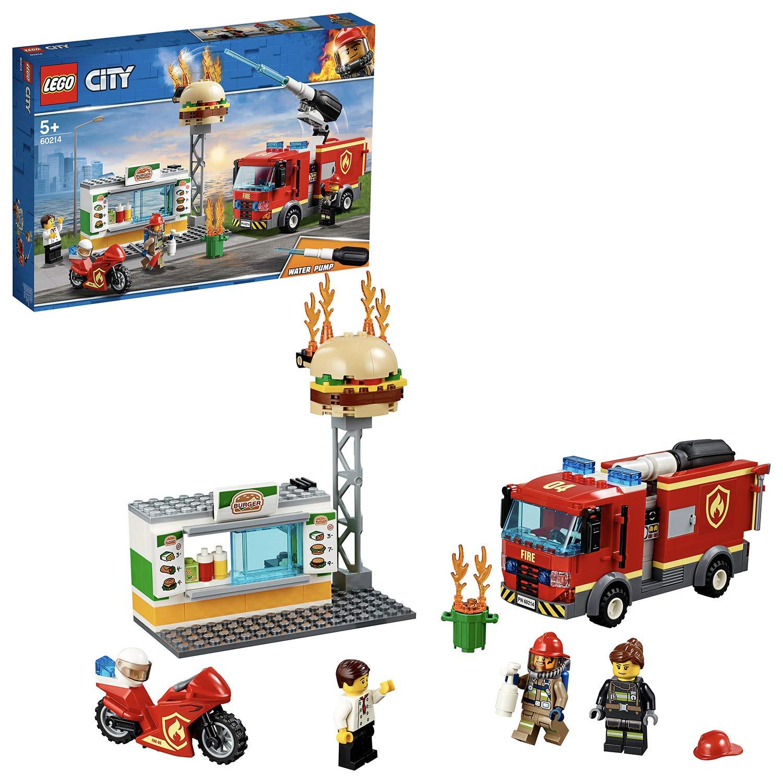 LEGO City Fire - Rescate del Incendio en la Hamburguesería