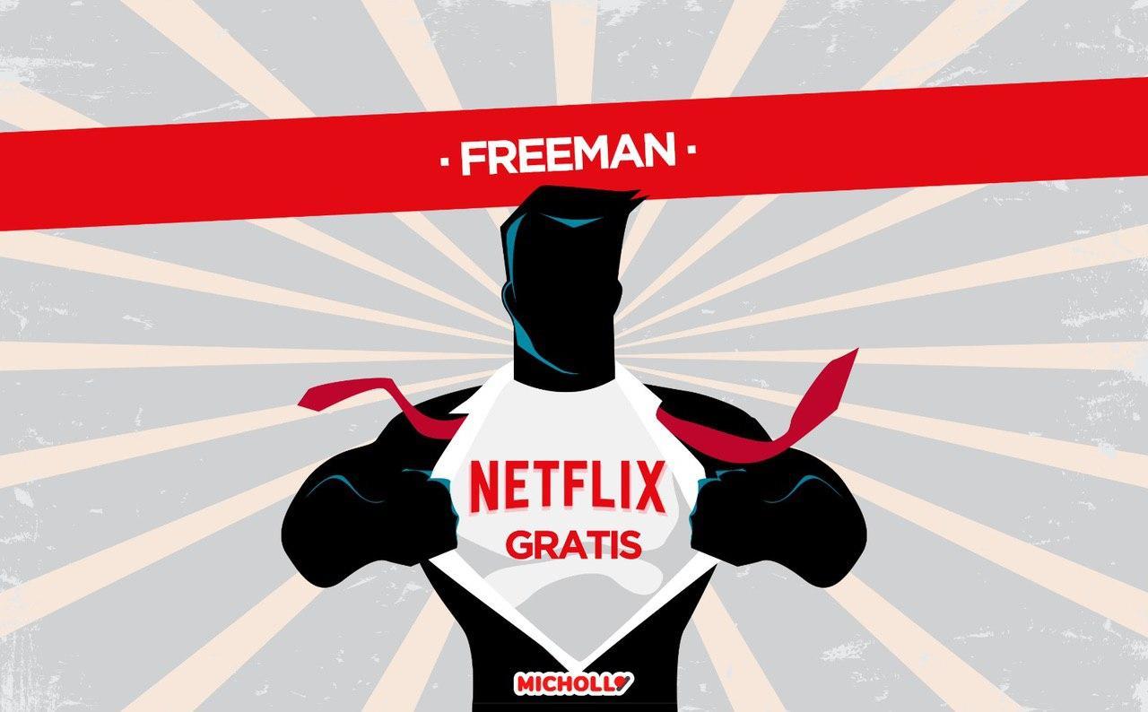 Truco Netflix mejorado con 1 MES GRATIS
