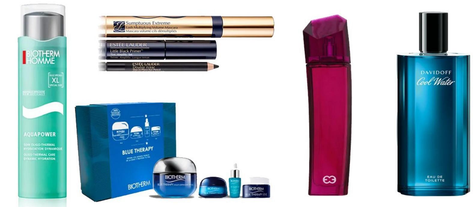 Hasta 64% dto en selección de productos belleza y perfumes