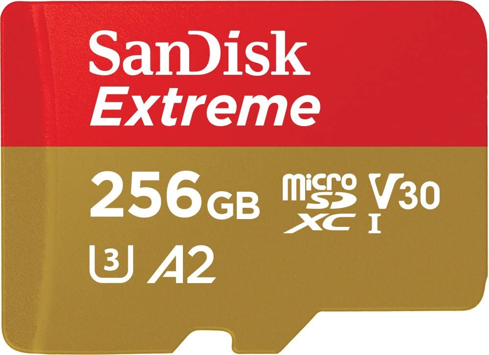 MicroSD SanDisk Extreme 256GB