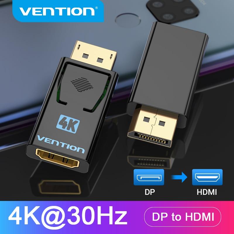 Adaptador DisplayPort a HDMI 1080P 60Hz
