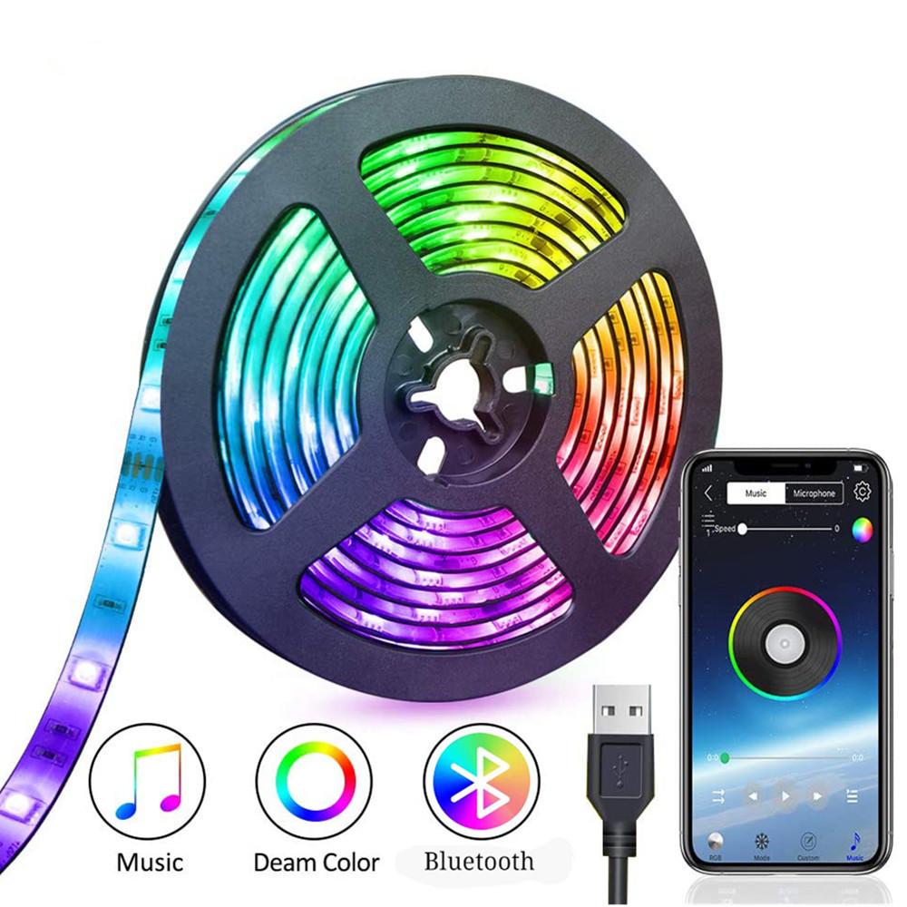 Tira LED USB + Bluetooth  5050 3M
