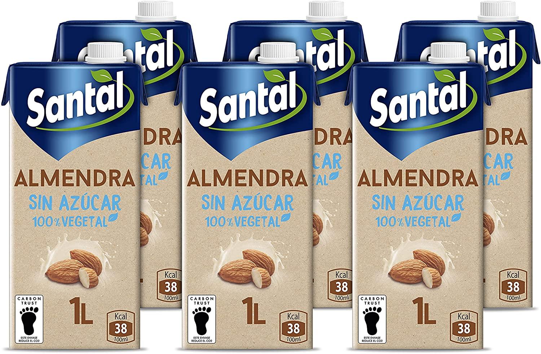 6 litros leche de almendra sin azúcar