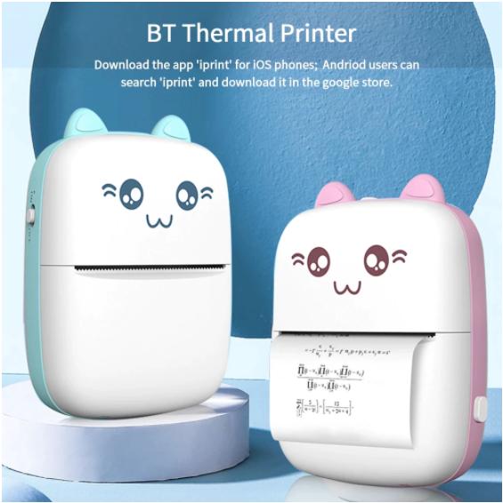 Mini impresora térmica portátil