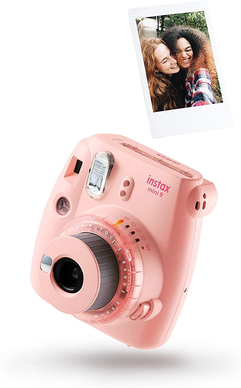 Cámara instantánea Fujifilm Instax mini 9 + 10 recambios de fotos