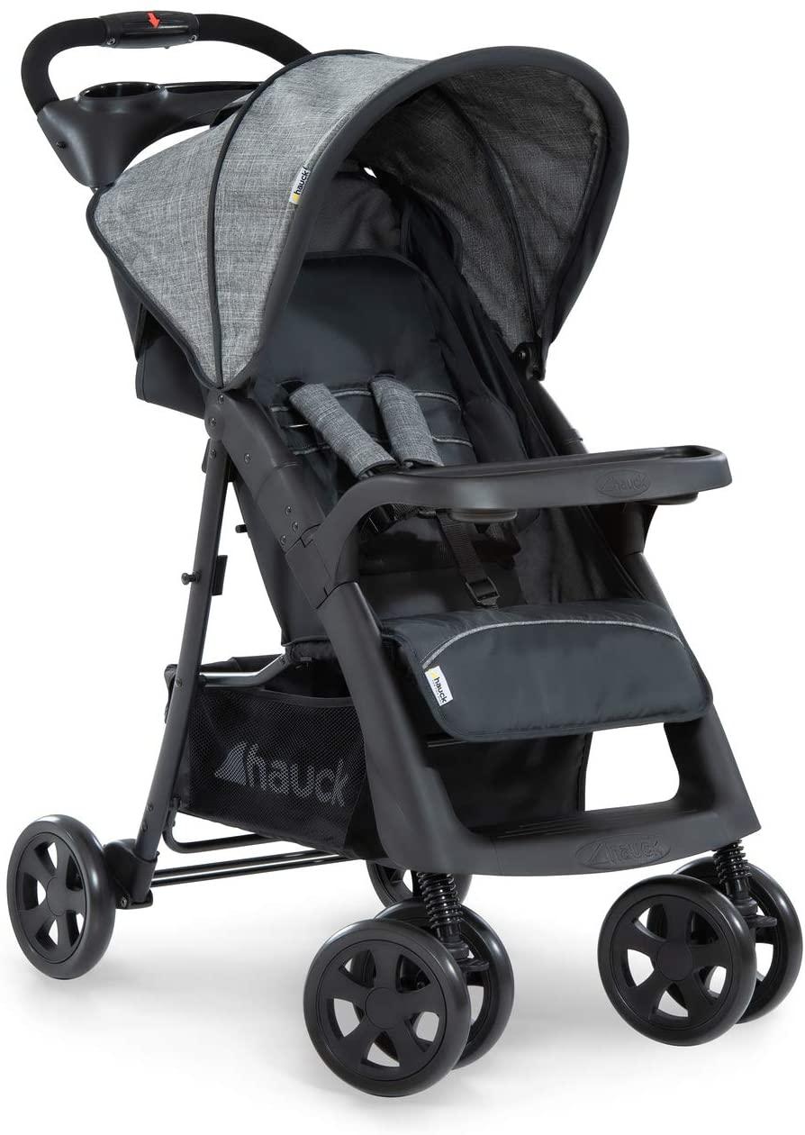 Hauck Shopper Neo II, silla de paseo con posiciones, plegado facil y compacto, plegado con una sola mano, ligera, desde nacimiento hasta 25k