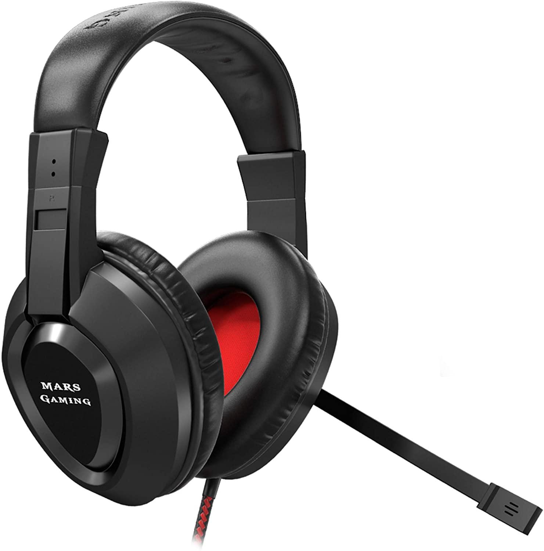 Auriculares gaming con micrófono Mars gaming MH217
