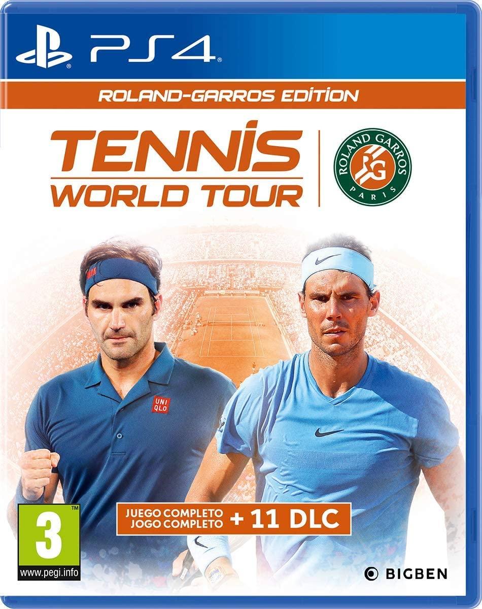Tennis World Tour - Roland-Garros Edition [Versión Española] PS4