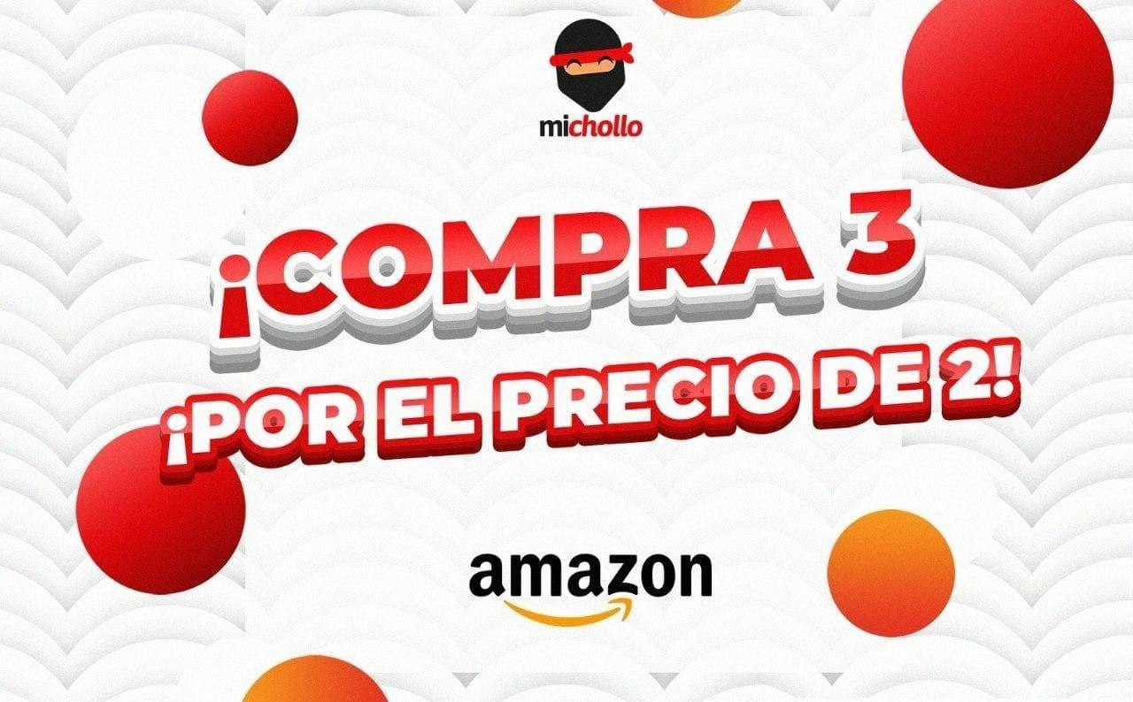 3x2 en Selección de Productos de Cuidado Personal desde Amazon