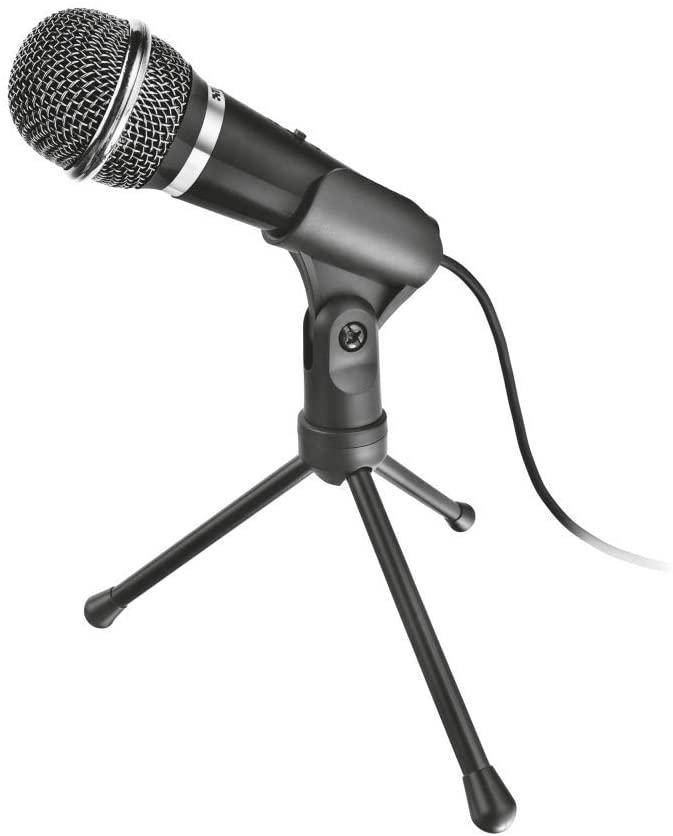 Micrófono Trust Starzz + trípode
