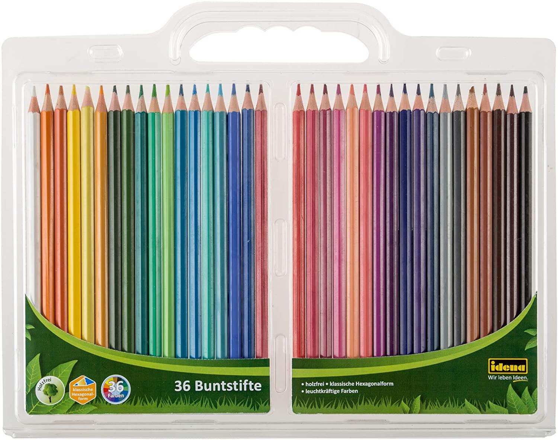 Pack 36 lápices colores