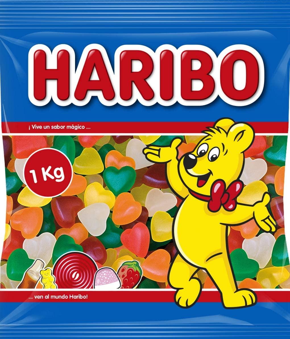 Haribo corazones tiernos 1kg