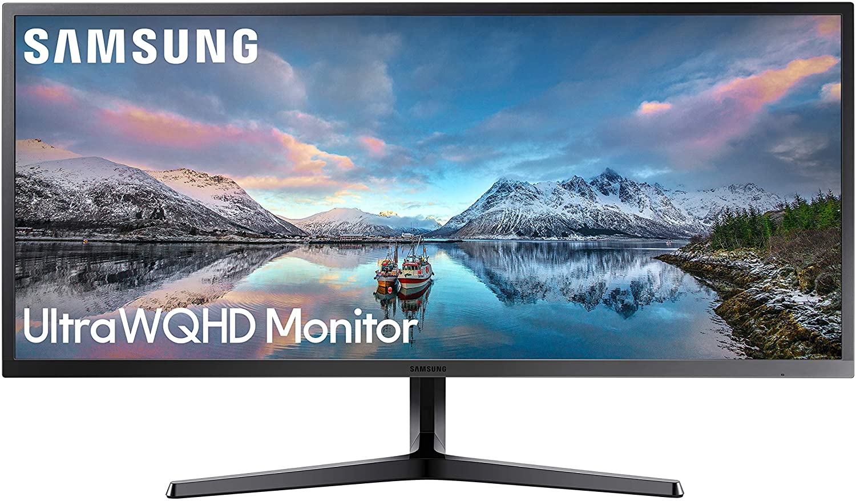 "Monitor LED Samsung 34"" UltraWide WQHD 4K"