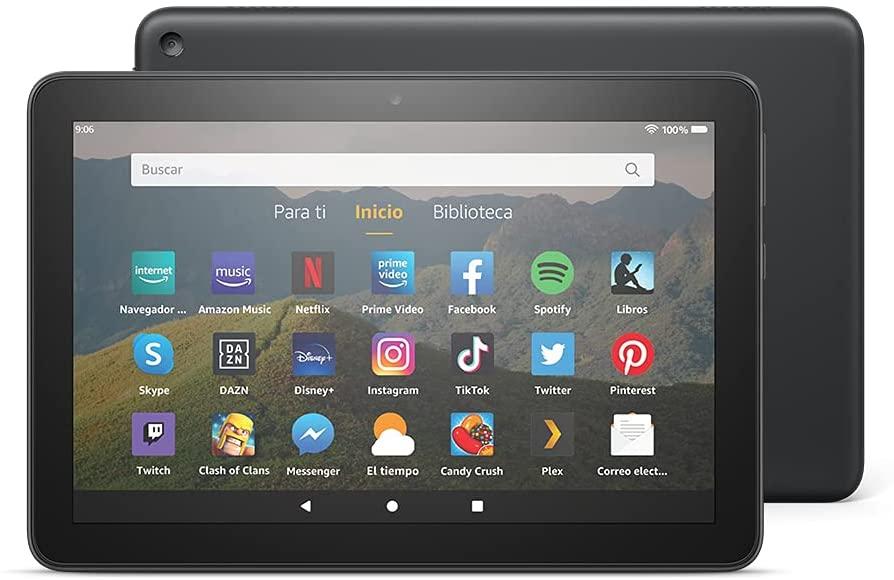 """Tablet Fire 8 HD con pantalla de 8"""" HD y 32GB"""