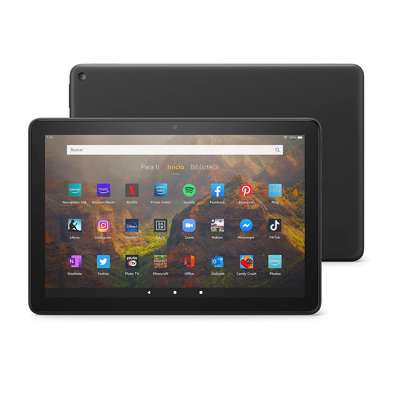 """Tablet  Fire HD 10  con pantalla de 10.1"""" HD y 32GB"""