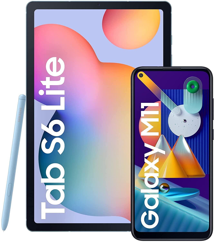 SAMSUNG Galaxy Tab S6 Lite  + Galaxy M11