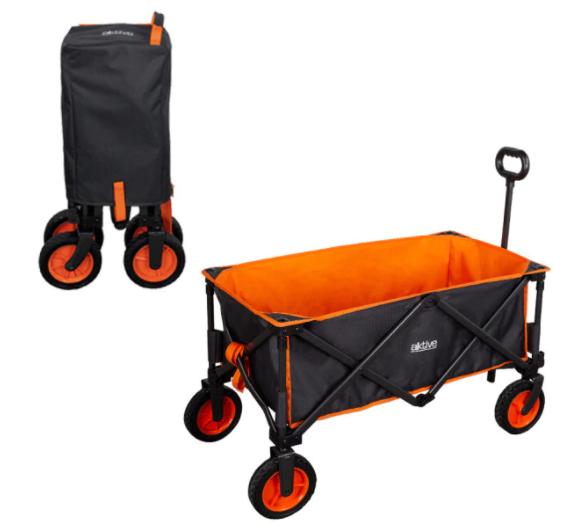 Carro plegable de transporte camping