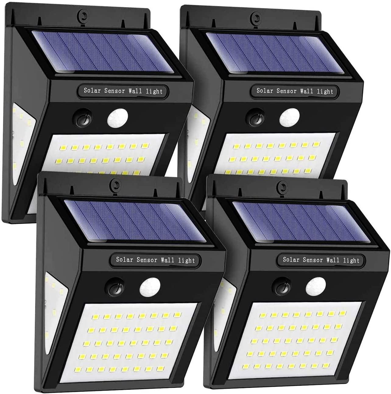 Pack de 4 Lámparas Solares IP65