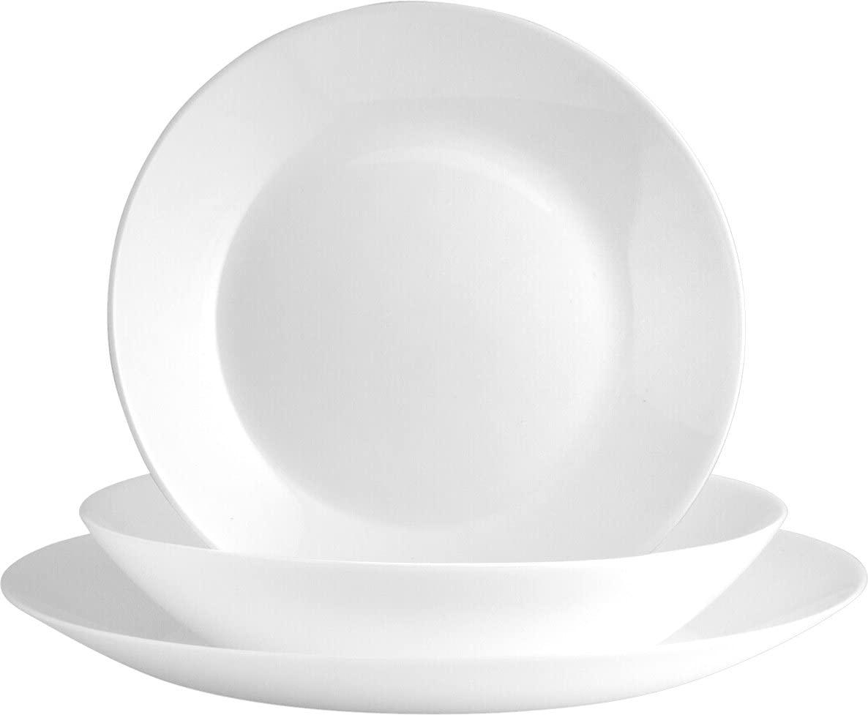 Vajilla vidrio 18 piezas