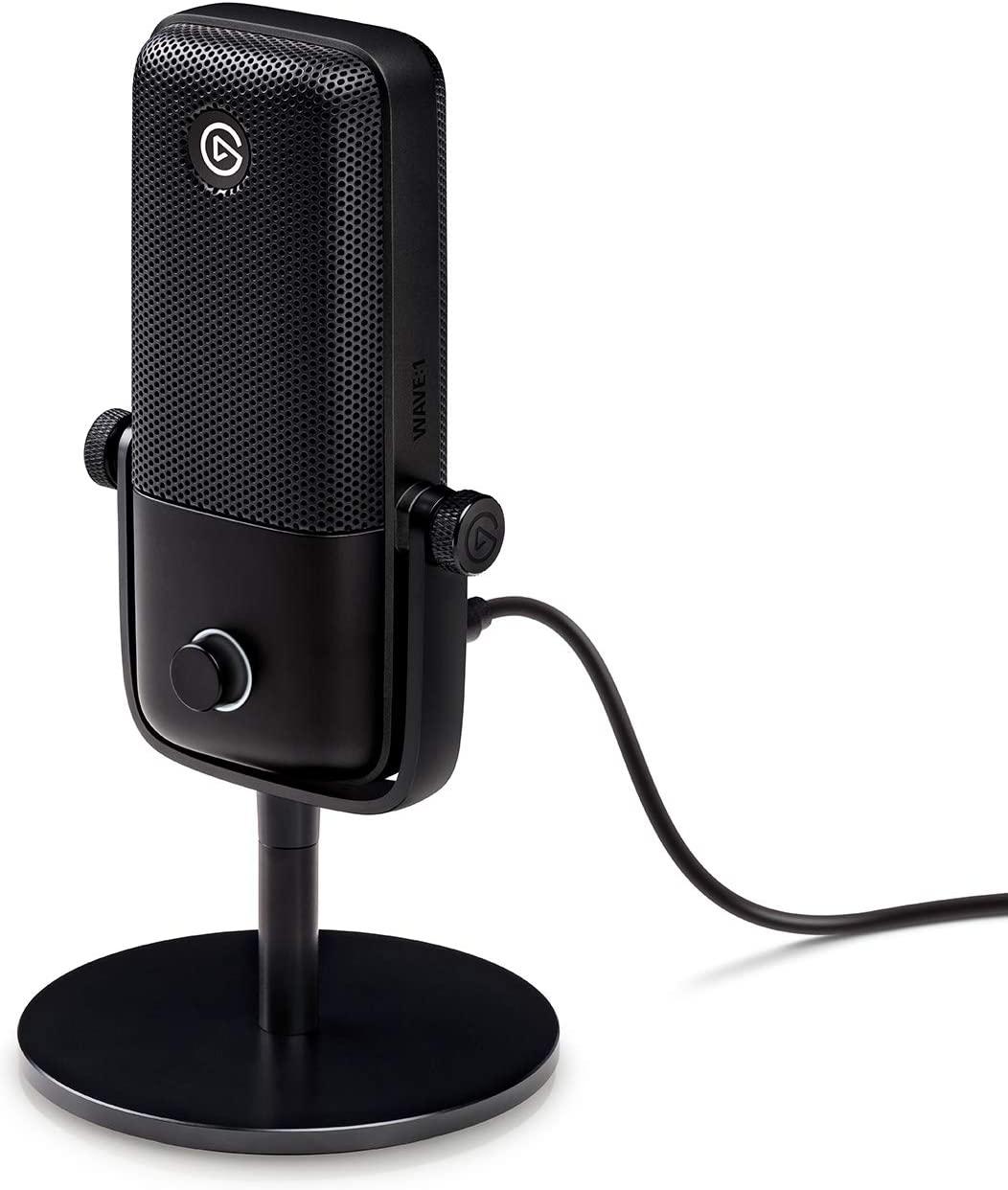 Micrófono condensador Elgato Wave:1