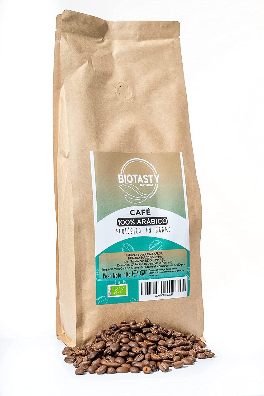 1Kg café en grano 100% Arabica Ecológico