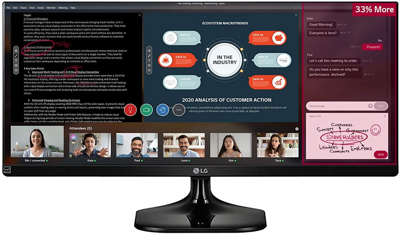 "Monitor LG 25"" Ultrawide IPS"