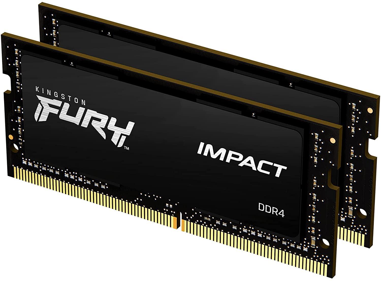 Kingston Fury Impact 16GB (2x8GB) 2933MHz DDR4