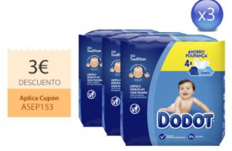 768 toallitas Dodot