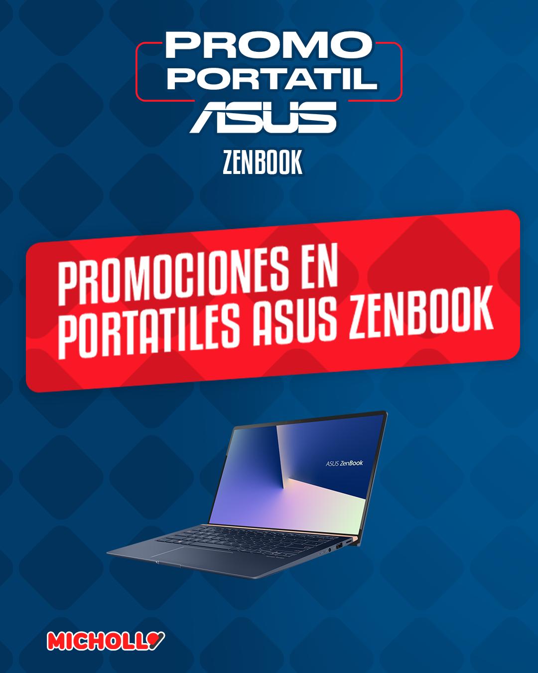 Oferta por tiempo limitado en portátiles Asus Zenbook en El Corte Inglés