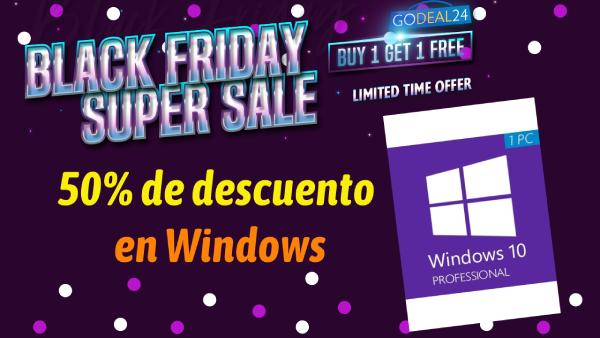 50% de descuento en CD KEY para Windows 10