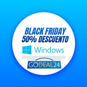50% descuento en Windows con Godeal24