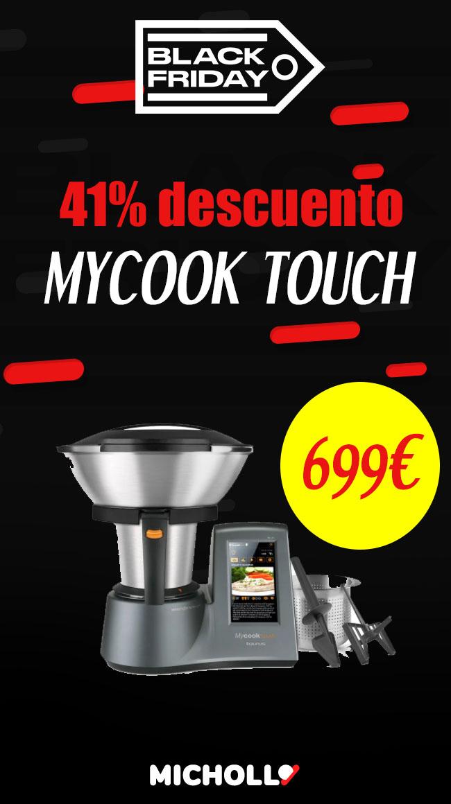 ¡Mycook Touch! · El robot de cocina más innovador