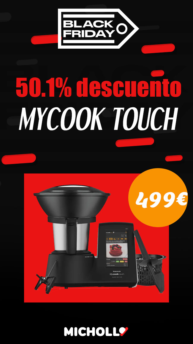 50% descuento Mycook touch Black Edition