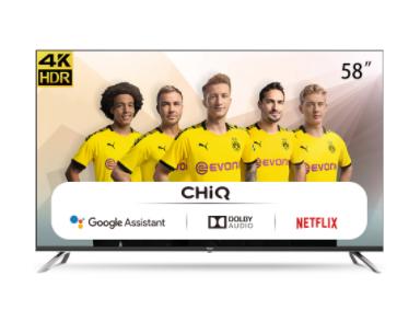 """Televisor CHiQ U58H7A de 58"""" UHD 4K"""