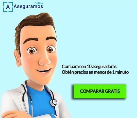 Comparador de seguros de salud
