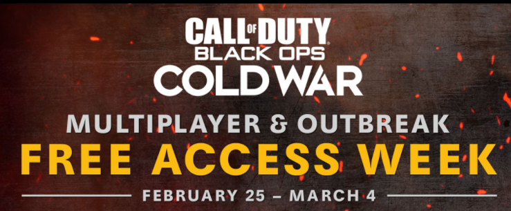 Gratis Call of Duty Black OPS Cold War prueba Brote y multijugador