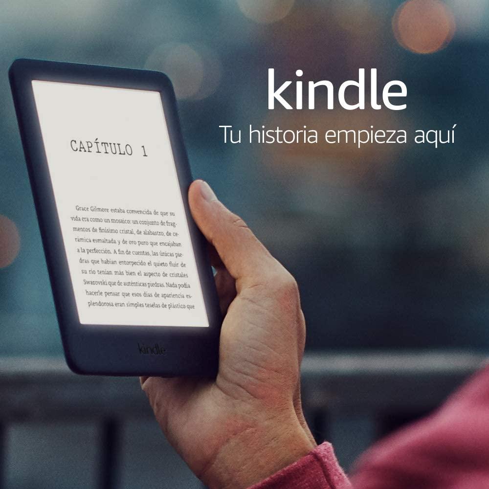Nuevo Kindle con luz integrada