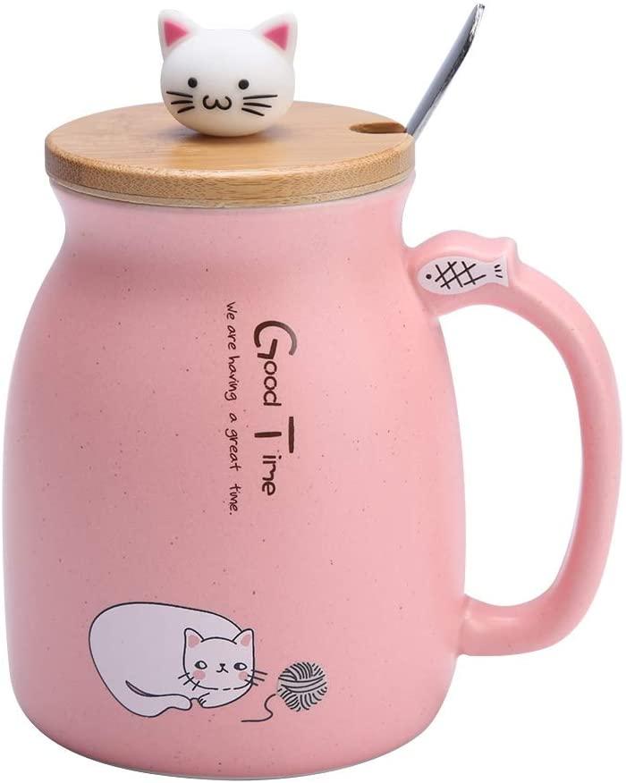 Taza cerámica amantes de los gatos